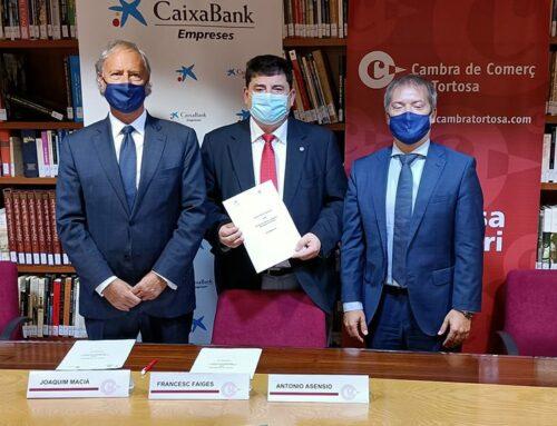 CaixaBank i la Cambra de Comerç de Tortosa donaran suport a projectes empresarials de les Terres de l'Ebre en el marc del pla europeu de recuperació