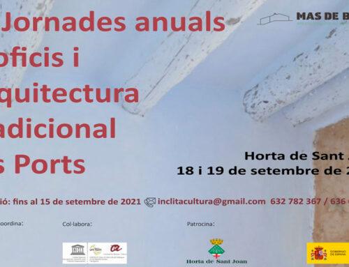 Horta de Sant Joan celebra les III Jornades d'ofici i arquitectura tradicional