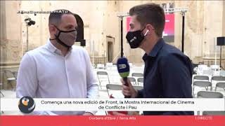 """""""Josep"""" inaugura la segona edició de FRONT"""