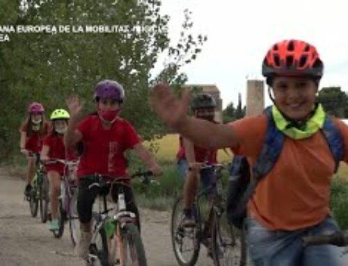 Setmana Europea de la Mobilitat. Bicicletada a l'Aldea