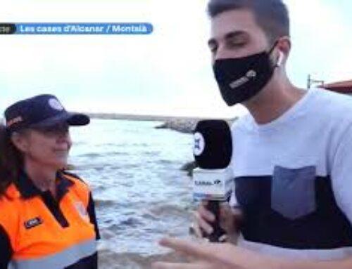 Voluntaris d'arreu de Catalunya, a Alcanar per ajudar