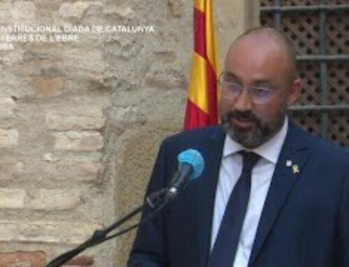 Acte Institucional de la Diada Nacional de Catalunya a les Terres de l´Ebre