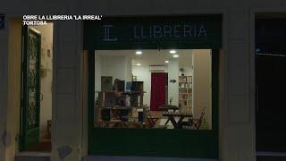 Obertura de la Llibreria La Irreal a Tortosa