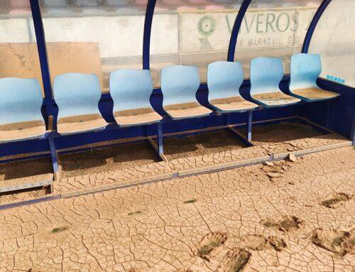 El regidor d'Esports i el representant territorial d'Esport a les Terres de l'Ebre visiten la Fanecada, greument afectada pels aiguats