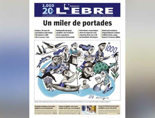 El Setmanari L'Ebre arriba al número 1.000
