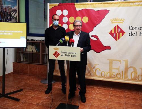 El Pla de Reactivació Socioeconòmica del Baix Ebre planteja mesures per fer front a l'impacte de la crisi de la Covid-19