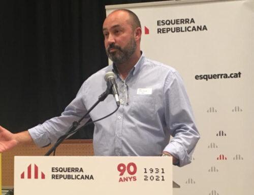 El Congrés de Federació de l'Ebre d'ERC ratifica a Albert Salvadó com a nou president