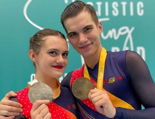 Les patinadors i patinadors del CP l'Aldea reben el més que merescut homenatge pels seus resultats