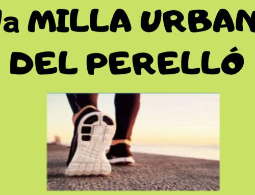 L'Ajuntament del Perelló reprendrà la celebració de la 7a milla urbana de la localitat