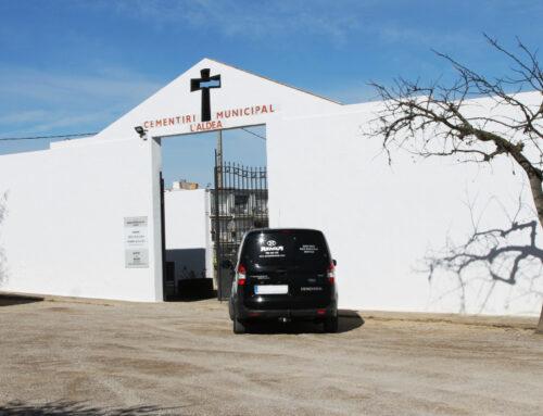 Finalitzen les millores al Cementiri de l'Aldea a punt per a Tots Sants