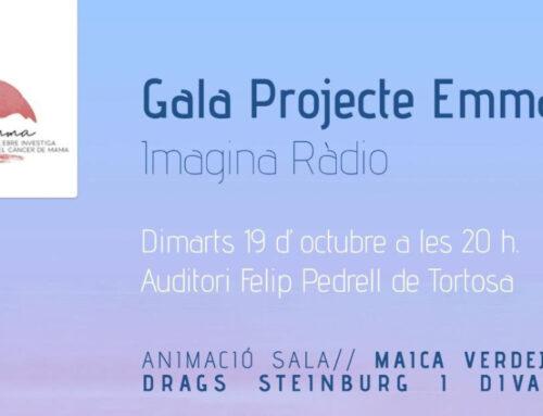 El Projecte Emma organitza una gal·la benèfica a Tortosa el proper dimarts 19 d'octubre