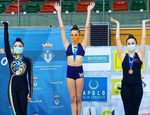 El Club Rítmica l'Ampolla aconseguix classificar 3 gimnastes i dos conjunts per al Campionat d'Espanya