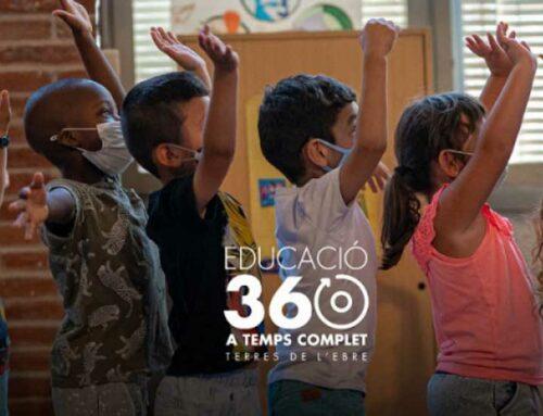 Amposta acollirà la Jornada Anual d'Educació 360 a les Terres de l'Ebre