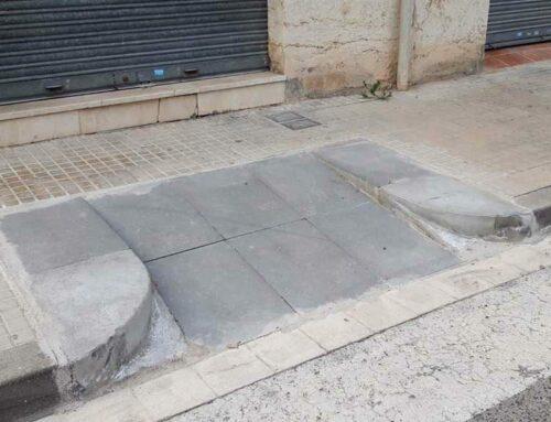 L'Ajuntament de Tortosa segueix suprimint barreres arquitectòniques, situant passos de vianants a cota zero