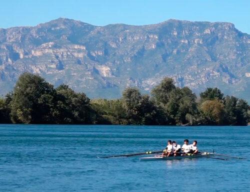 300 remers i remeres participen al descens Tortosa-Amposta, tot i el vent