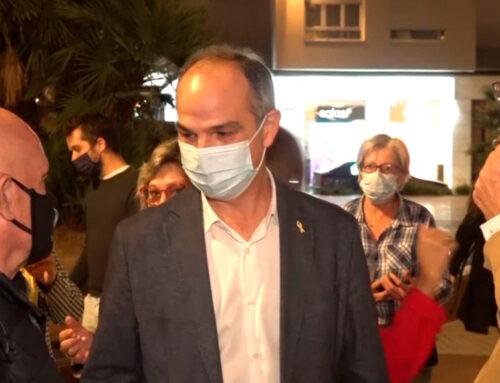 L'exconseller Jordi Turull analitzar la situació política actual de Catalunya a la concentració de la plaça Alfons XII