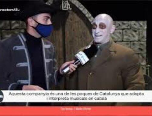 La Companyia de l'EMTT és una de les poques que produeix musicals amb català