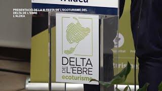 Presentació de la III Festa de l'Ecoturisme del Delta de l'Ebre