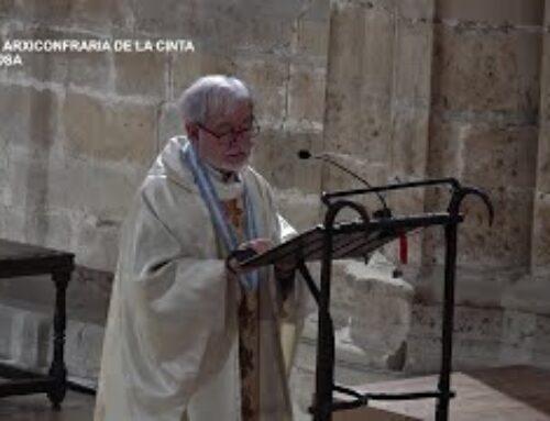Missa Arxiconfraria de la Cinta. Diumenge 3 d'octubre