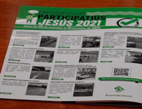 Els Pressupostos Participatius de Jesús ja tenen als 3 projectes guanyadors que compten en 40.000€